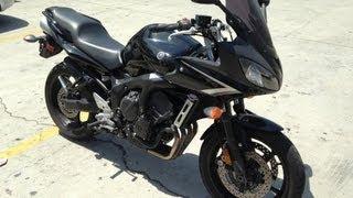 2. 2008 Yamaha FZ6 Motorcycle
