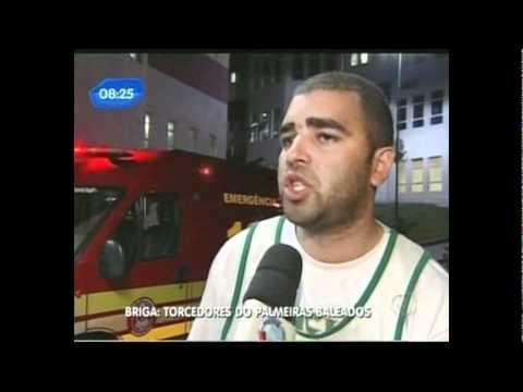 Torcedores do Palmeiras são baleados antes de jogo com Corinthians
