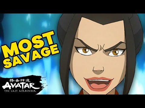 Azula's 21 Most SAVAGE Moments in ATLA⚡️| Avatar