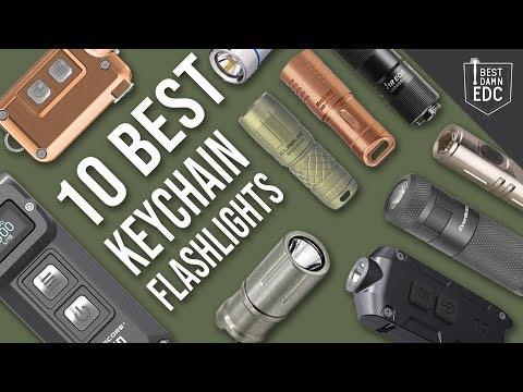 10 Best EDC Keychain Flashlights   Everyday Carry