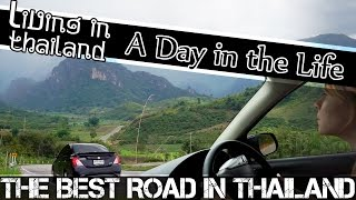 Nan Thailand  City new picture : BEST ROAD IN THAILAND - CHIANG RAI-NAN THAILAND VLOG (ADITL EP65)