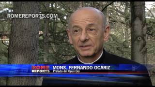 """Primeras declaraciones del prelado del Opus Dei: """"Estoy muy agradecido al Papa"""""""