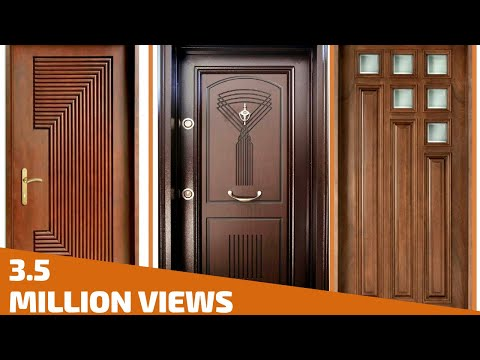Top 35 Modern Wooden Door Designs For Home 2018- Plan N Design