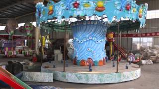 Ocean Carousel Ride Test From Beston Equipment Video