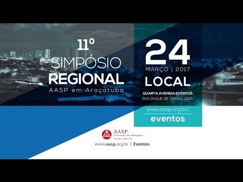 11º Simpósio Regional AASP Araçatuba