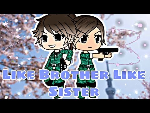 Like Brother Like Sister (read description) // A Gacha Life Mini Movie by ChelseaDaPotato