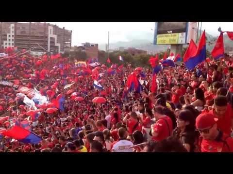 Nacional vs Medellín 2014 (Si quieren ver fiesta vengan a la norte) - Rexixtenxia Norte - Independiente Medellín