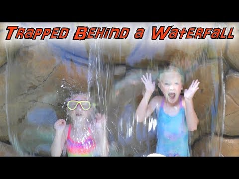 Escape The Waterfall!!! KIDS IN CHARGE For 24 Hours! Dad Can't Say NO!!!