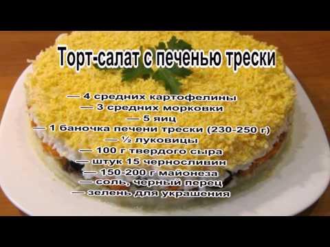 Блюдо из печени трески рецепт очень вкусный