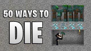 Video 50 Ways to Die in Minecraft (Aquatic Edition) MP3, 3GP, MP4, WEBM, AVI, FLV Agustus 2019