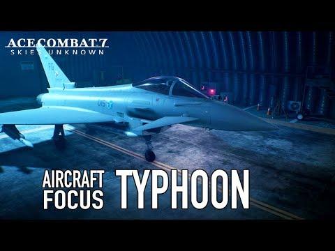 Typhoon Aircraft Focus de Ace Combat 7