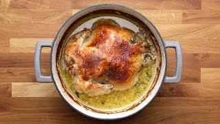 Milk Braised Chicken by Tasty