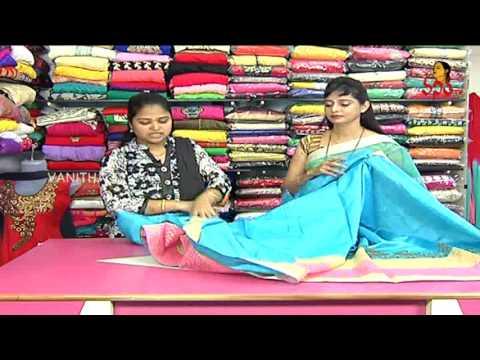 Latest Collection of Designer Pattu and Fancy Designer Sarees | Sogasu Chuda Tarama | Vanitha TV 03 October 2015 02 54 PM