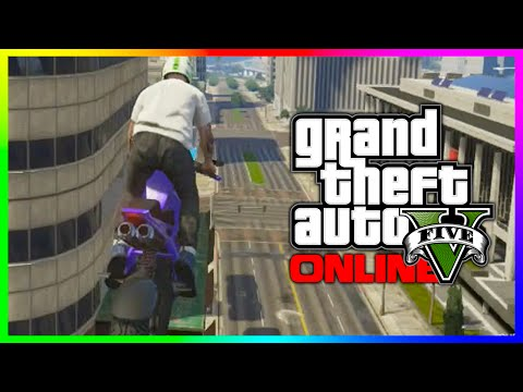 Gta - GTA 5 Funny Moments - IMPOSSIBLE MOTORCYCLE JUMP!!! (GTA 5 Online Funny Races) ▻ More