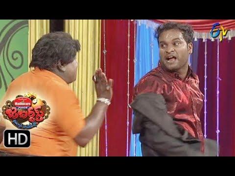 Jabardasth Telugu Comedy Show ,8th Sep 2017,Rachha Ravi performance - ETV Telugu
