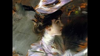 Художник: Giovanni Boldini (1842-1931) Музыка: Ernesto Cortazar - Just Another Blue Day.