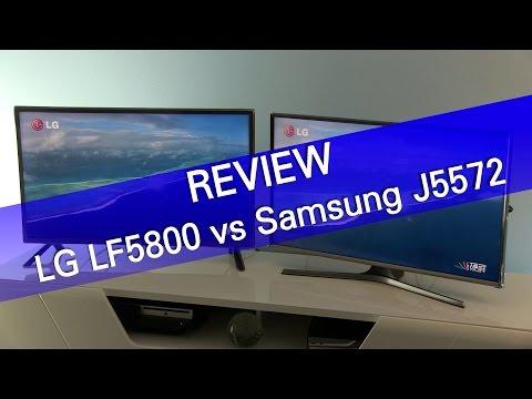 LG LF5800 vs Samsung J5572 HDTV review