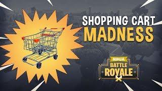 Video Shopping Cart Madness!! - Fortnite Battle Royale Gameplay - Ninja & TimTheTatman MP3, 3GP, MP4, WEBM, AVI, FLV Januari 2019