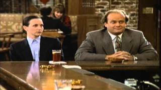 Cheers - Frasier&Lilith Argue About Freud