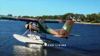 Paradise Seaplanes offers one-of-a-kind adventures from the Maroochy River on the Sunshine Coast, Queensland, Australia.