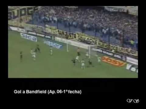 Goles de Sebas Battaglia con el Boca
