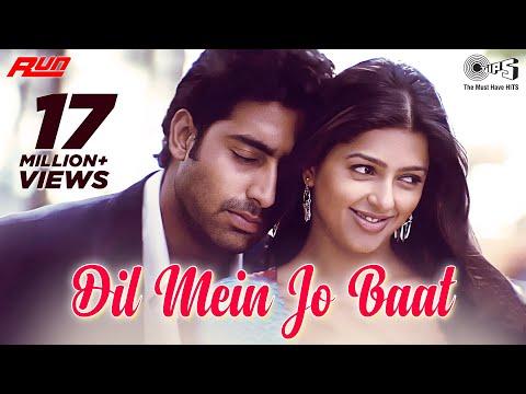 Dil Mein Jo Baat - Full Video | Run | Abhishek Bachchan, Bhoomika Chawla | Alka Yagnik, Sonu Nigam
