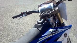 10. 2014 Yamaha WR450F in Team Yamaha Blue Fuel Injection