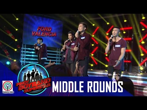 "Pinoy Boyband Superstar Middle Rounds: Ford, Tony, Jindric, Angelo and Jimsen - ""Nanghihinayang"""