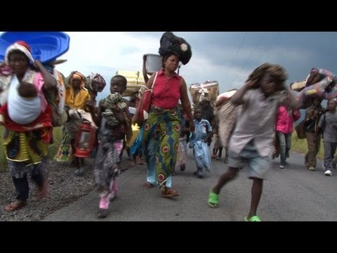 Milhares de civis em fuga no Congo