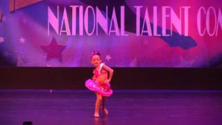 """Olive performing, """"Born to Entertain"""" at Starbound dance competition in 2017. Dannsair Dance Academy 12862 Garden Grove..."""