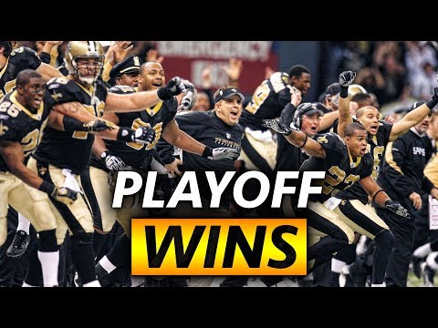 Every Saints Playoff Win