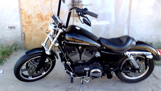 10. Harley-Davidson Sportster XL1200R 2006 88ci 1450cm3 120+hp Hammer Performance /Axtell