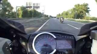 6. Autobahn Suzuki GSX-R 1000 K9 2009 TopSpeed 299 km/h