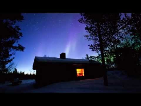 The Northern Lights (Aurora Borealis) in Finland