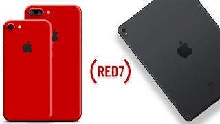 RED iPhone 7 Color & New iPad Pro 2's Coming March!, iPhone, Apple, iphone 7