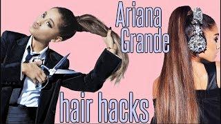 Video Ariana Grande HAIR HACKS EVERY Girl SHOULD KNOW !! MP3, 3GP, MP4, WEBM, AVI, FLV Desember 2018