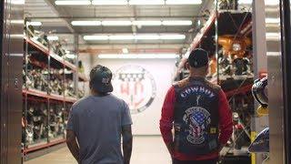 TJ Dillashaw and Cowboy Cerrone Tour Harley-Davidson Museum by UFC