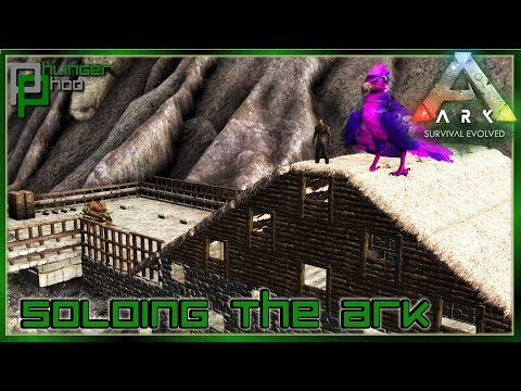 BUILDING A SECRET VOLCANO METAL REFINERY Soloing The Ark S5E24