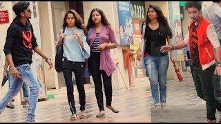 Video RAGHAV SLOW MOTION DANCE PRANK ON CUTE GIRLS | Pranks by B4Bachao | Pranks in india MP3, 3GP, MP4, WEBM, AVI, FLV April 2018