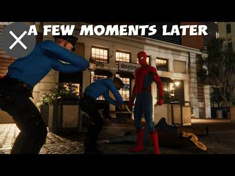 Spider-man PS4 how to go out of bounds working 2020