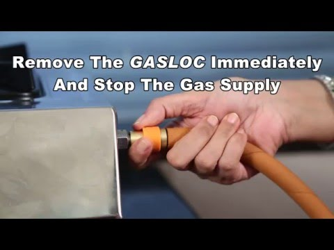 Gasloc - Easy and Quick LPG Stove Connector