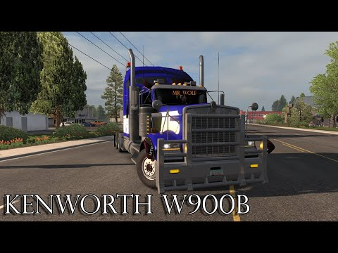 Kenworth W900B ETS2 1.36