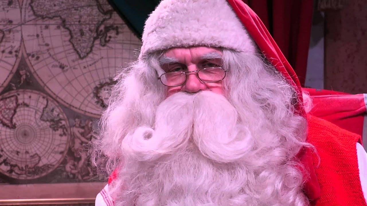 Joulupukilta videotervehdys Kanarialle<br /> ja kaikkialle miss&auml; t&auml;t&auml; katsotaan!