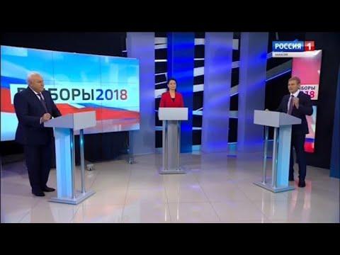 Первые дебаты Виктора Зимина и Валентина Коновалова вызвали ажиотаж