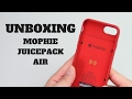 Mophie Juicepack Air Unboxing and Review For the iPhone 7
