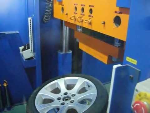 Проверка прочности диска WSP Italy W651 Ginevra на удар обода (БМВ)
