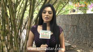 Sanam Shetty at Vilasam Movie Press Meet