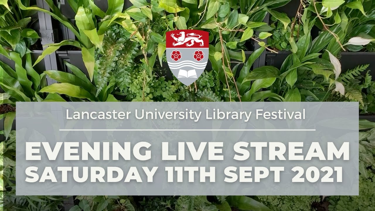 Library Festival, an evening of music and conversation