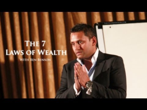 wealth - Subscribe on Youtube: http://t21c.com/12YTr3X Subscribe by e-mail: http://www.the21convention.com Follow on Twitter: http://twitter.com/beachmuscles Ben Bens...