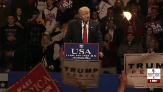 Cincinnati (OH) United States  City pictures : Full Speech: President-Elect Donald Trump Rally in Cincinnati, OH 12/1/16
